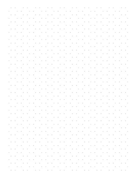 Grid Paper Hexagonal Dots - 3d graph paper