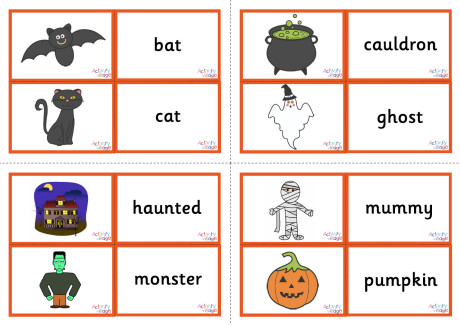 Vocabulary Matching Cards