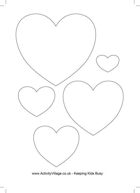 Heart Templates 4