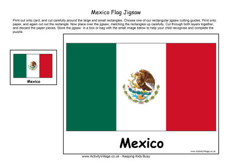 Mexico Flag Printables