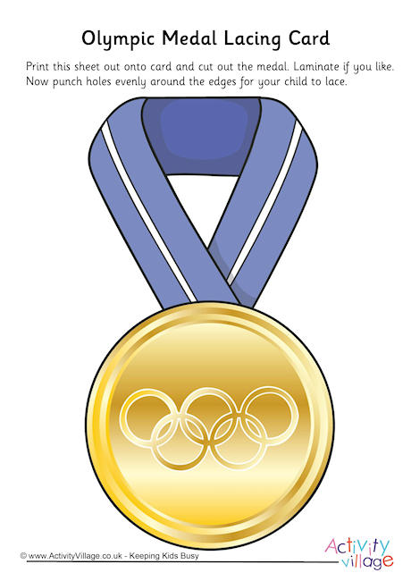 Olympic medal templates free