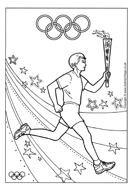 olympic hockey coloring pages