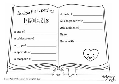 Friendship Card Template Best Friends Friendship Birthday Card For