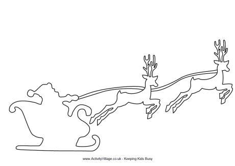 Reindeer Template To Print
