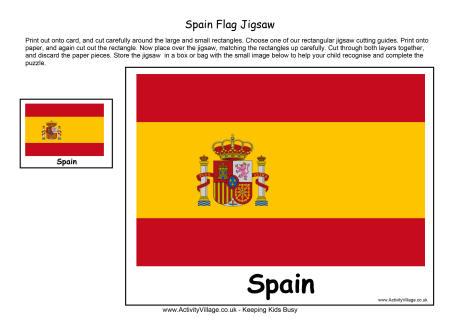 Spain Flag Printables
