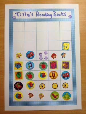 Gingham Sticker Charts