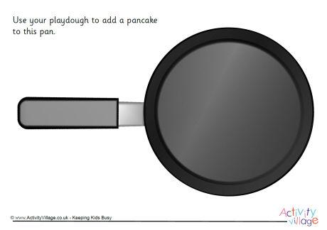 Playdough Mats for Pancake Day, Anyone?