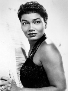 Pearl Bailey publicity still. William Morris Agency, available under public domain.