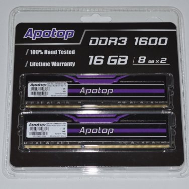 APOTOP DDR3 1600 C10 DUAL CHANNEL PERFORMANCE MEMORY KIT 16GB (8GBx2)_023