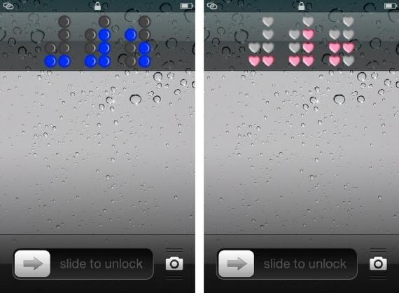 Binary Clock Screenshot 1024x751 Binary Clock: cambia tu reloj de la pantalla de bloqueo por un reloj binario (Cydia)