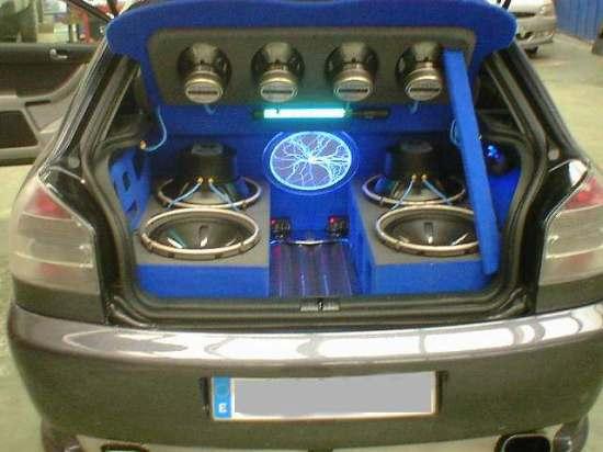 equipos de audio en coches: