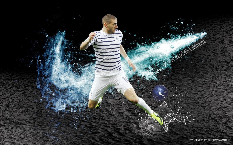 Messi 3d Wallpaper 2017 Benzema Nike Football France Coupe Du Monde 2018