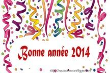 Bonne année 2014 voeux