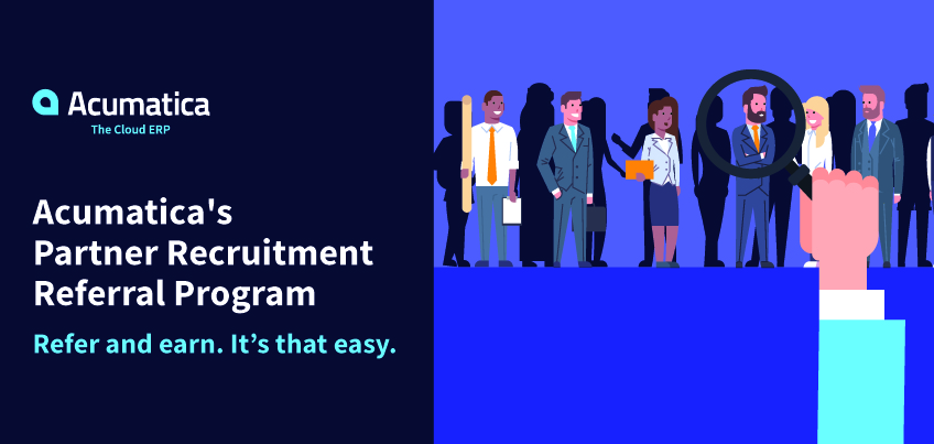 UPDATE Learn About the New Acumatica Partner Recruitment Referral - referral employment