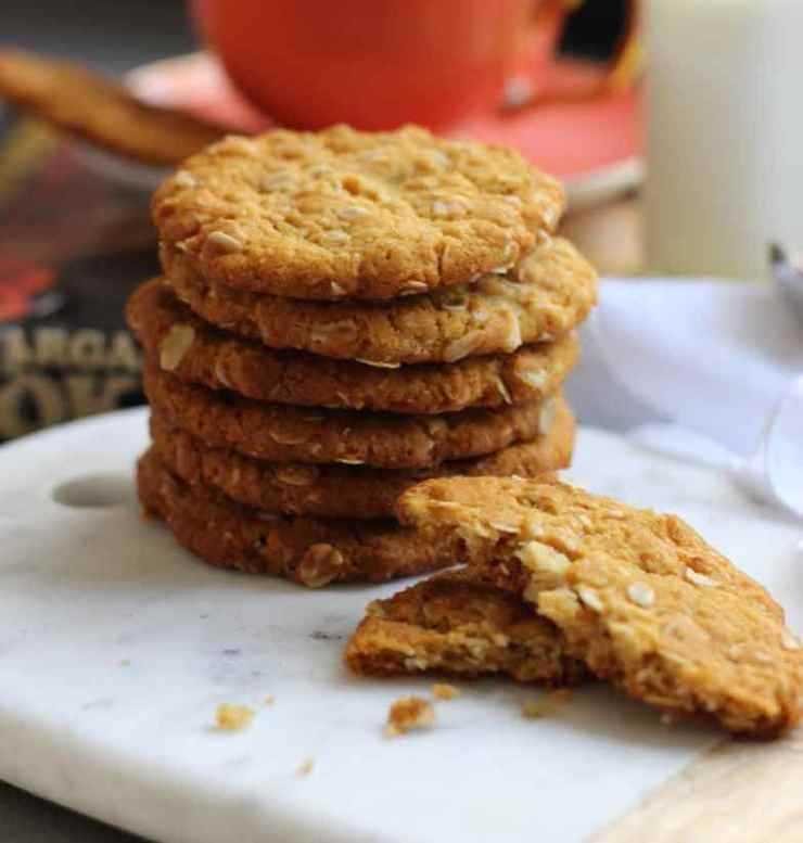 Anzac biscuits + cookbook cropped small