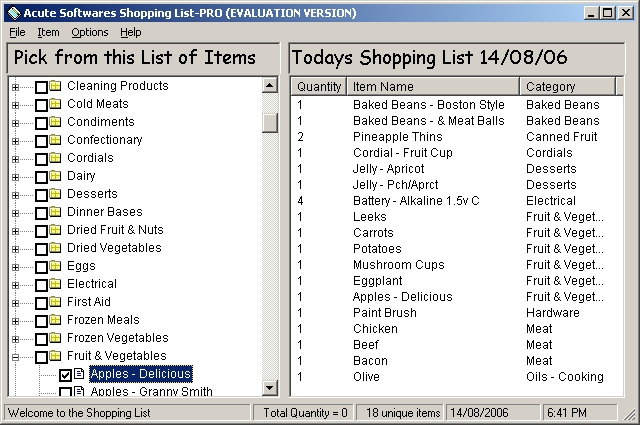 Shopping List PRO - the best way to manage your shopping lists - shopping lists