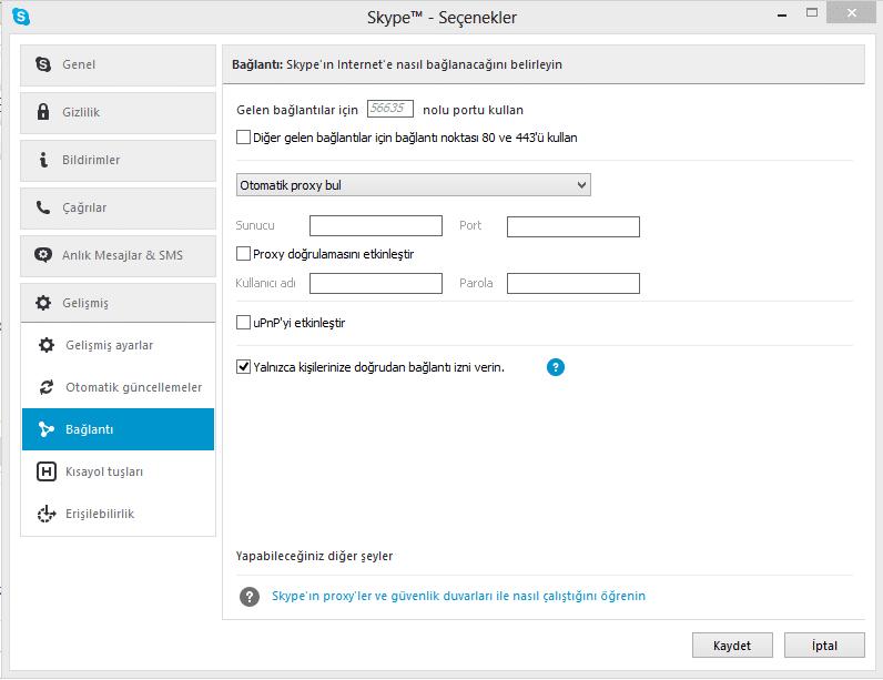 Skype güvenli hale getirmek skype ile ip adresi bulmak ve gizlemek