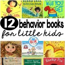 12 behavior books for little kids