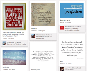 Inspiration pinned: The rise of spiritual quotes on Pinterest