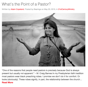 What's the Point of a Pastor? | Bearings