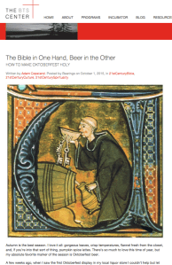 The Bible in One Hand, Beer in the Other: How to Make Oktoberfest Holy