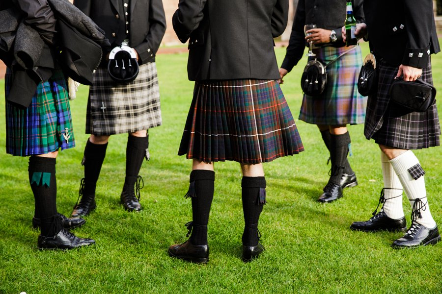 kilts at wedding