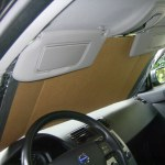 DIY Sunshade in Car