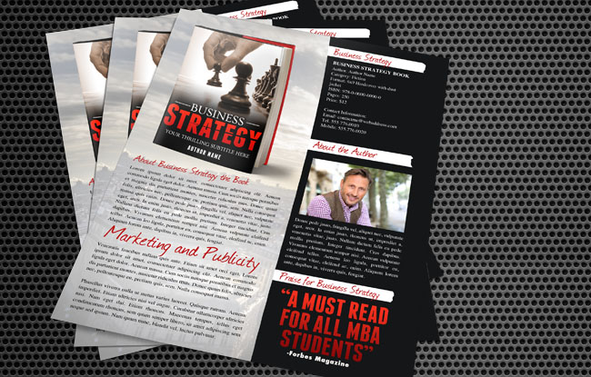 Book Sell Sheet Templates - Ideas  Designs - Adazing - sample sell sheet