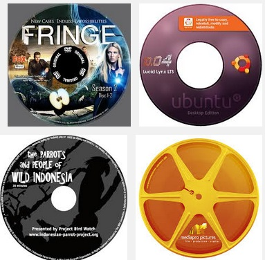 How To Create CD or DVD Labels