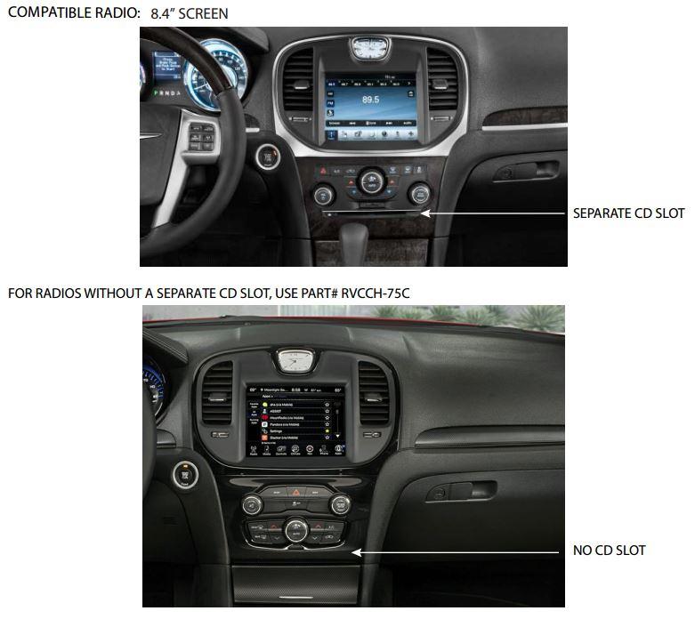 Rear Camera w/AV Input for Chrysler/Dodge w/UConnect 84\u2033 \u2013 ADC Mobile