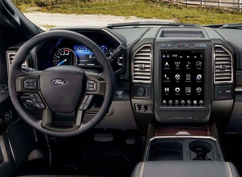 GEN II \u201cT\u201d Style Radio for 2015-19 Ford F-Series \u2013 ADC Mobile