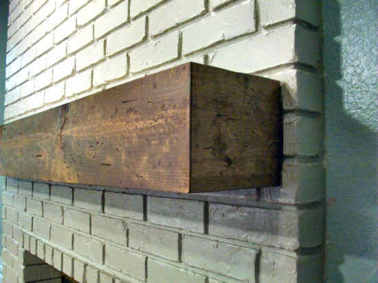 Turn Inexpensive Lumber Into A Mantel That Looks Like A