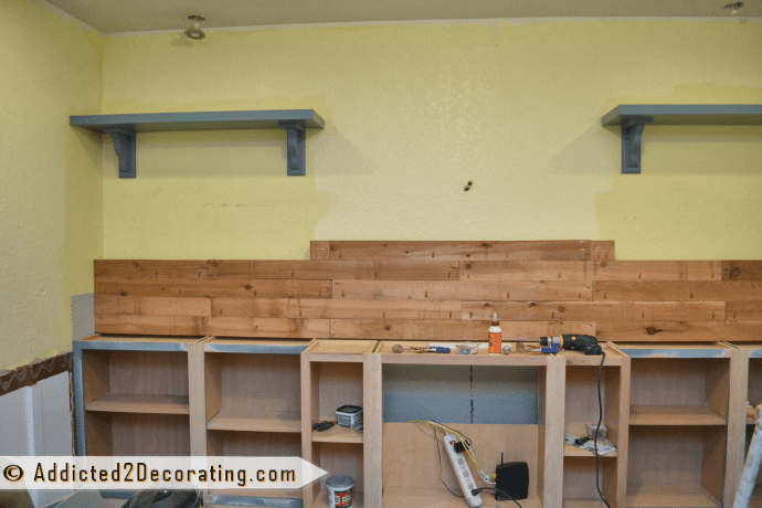 Diy Built In Bookcases Part 2 Making The Wood Countertop