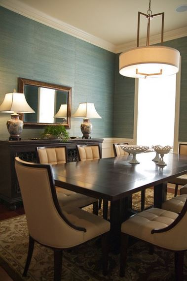 Grasscloth + Wainscoting (The Perfect Combo For My Living Room) - Addicted 2 Decorating®