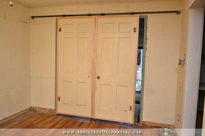 Cheap DIY Barn Door Hardware (Under $60)