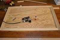 DIY Wood Framed Upholstered Headboard With Nailhead Trim ...