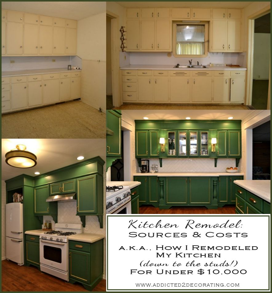 kitchen remodel sources cost breakdown grand total how to remodel kitchen My complete down to the studs kitchen remodel came in at just under