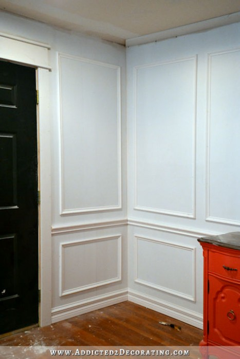 How To Install Picture Frame Moulding (The Easiest Wainscoting