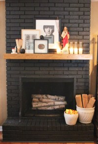 Beautiful Dark Gray & Black Fireplaces