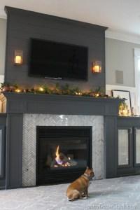 Beautiful Dark Gray & Black Fireplaces - Addicted 2 ...