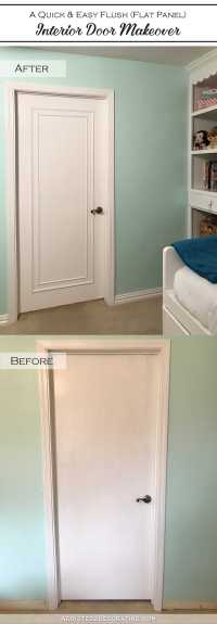 An Easy & Inexpensive Way To Update Flush (Flat Panel ...