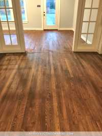 Adventures In Staining My Red Oak Hardwood Floors ...
