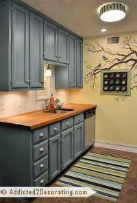 Teal Kitchen Cabinet Sneak Peek (Plus, A Few Cabinet ...