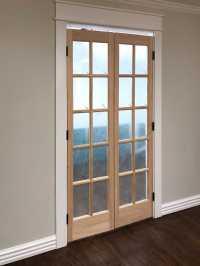 Pantry Doors Finished  Bifold Closet Doors Installed As ...