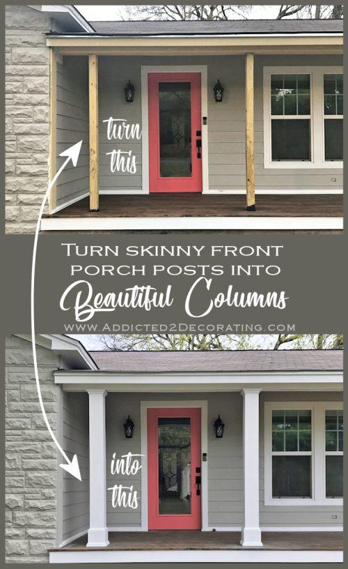 Medium Of Front Porch Columns