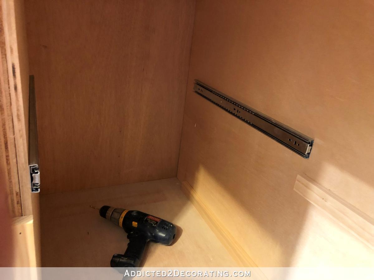 My Final Diy Blind Corner Storage Solution In The Pantry