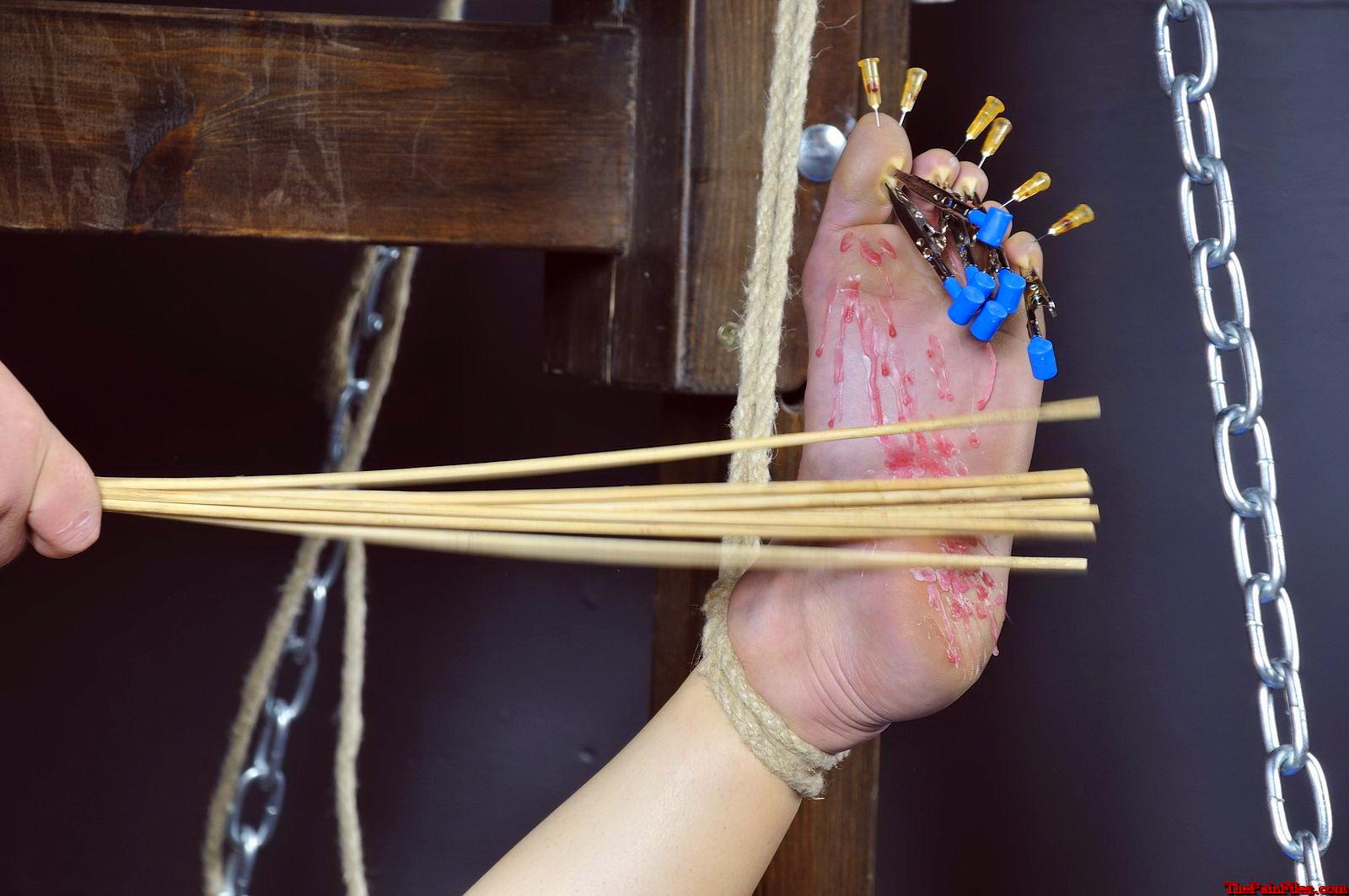 amputation bondage foot torture