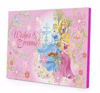 Disney Princess LED Light Up Canvas Wall Art Only $9 ...