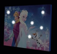 Disney Frozen Canvas LED Wall Art Only $7.99 ...