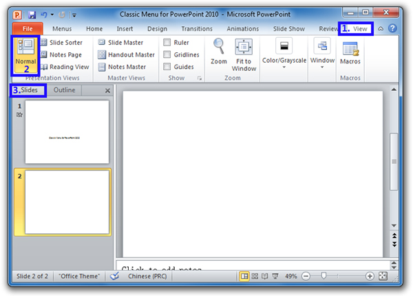 Where is the Delete Slide in Microsoft PowerPoint 2010 and 2007?